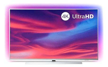 Televize Philips 55PUS7304 stříbrná