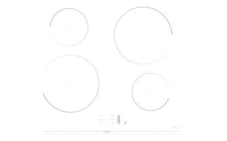 Indukční varná deska Mora VDIT 650 CW bílá + dárek