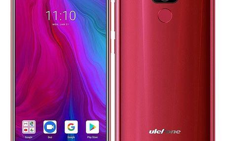 Mobilní telefon UleFone Power 6 červený (ULE000269)