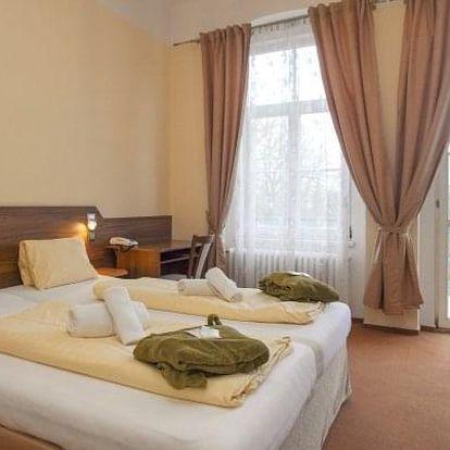 Františkovy Lázně: Hotel Sevilla *** s polopenzí, bazénem a procedurami