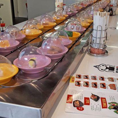 Až 25% sleva na All You Can Eat Running Sushi, OC Novodvorská Plaza