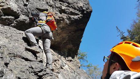 Zážitkové lezení: Via Ferrata v Ústí nad Labem