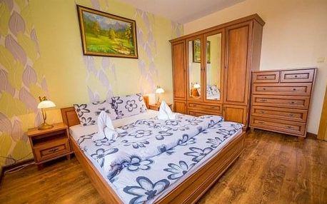Vysoké Tatry: Hotel Eufória *** s polopenzí, vířivkou, saunou a láhví vína