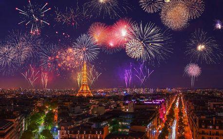 Oslava nového roku v Paříži na 4 nebo 5 dní