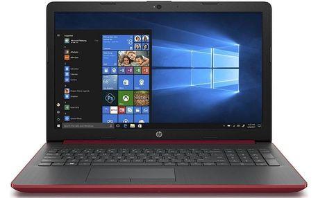 Notebook HP 15-db0601nc červený (8NE79EA#BCM)
