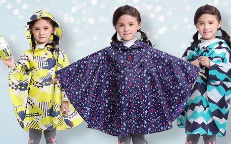 Dětské pláštěnky s teflonovou úpravou: S–XL