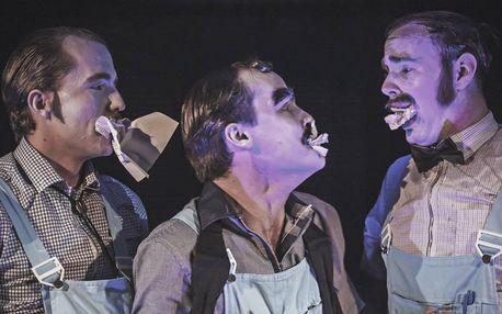 Hra Rána pod pás v Městském divadle Kladno