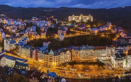 Spa Hotel Panorama v Karlových Varech s lázeňskými procedurami a polopenzí