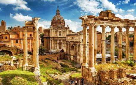 Jaro v Římě: letenky a 3 noci přímo v centru