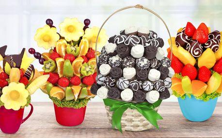 Kytice Frutiko: sladké překvapení z ovoce a čokolády