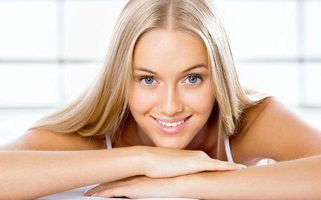 Kosmetické balíčky s čištěním pleti a masáží