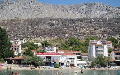 Chorvatsko - Omiš na 8 až 10 dní, bez stravy nebo polopenze s dopravou autobusem, Omiš