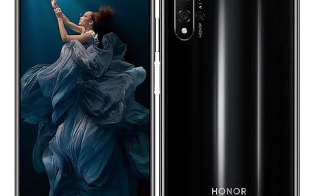 Mobilní telefon Honor 20 Dual SIM černý (51093VCM)