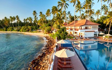 Srí Lanka - Tangalla na 9 až 10 dní, snídaně nebo polopenze s dopravou letecky z Prahy, Tangalla