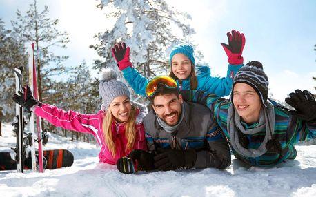 Aktivní zima i jaro na Lipně s polopenzí a slevami