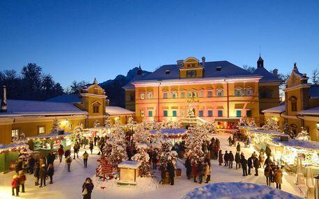 Adventní Rakousko: Salzburg i zámek Hellbrunn