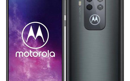 Mobilní telefon Motorola One Zoom šedý (MOTOONEZOOMGREY)