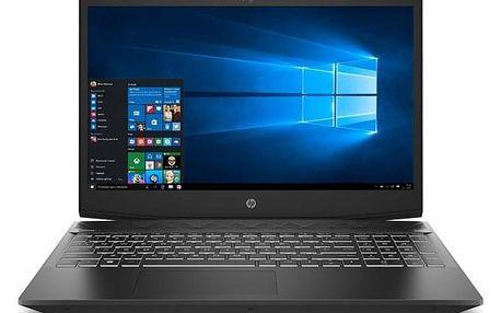 Notebook HP Pavilion Gaming 15-cx0017nc černý (4MJ67EA#BCM)