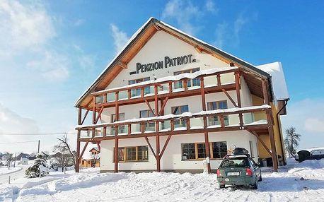Orlické hory v penzionu s apartmány nedaleko lyžařských středisek s wellness a snídaní