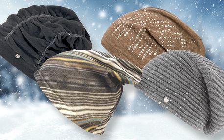 Moderní čepice od italských módních značek