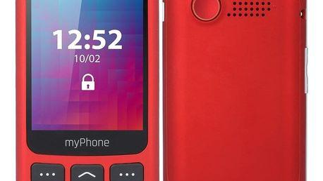 Mobilní telefon myPhone Halo S Senior červený (TELMYSHALOSRE)