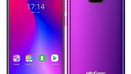 Mobilní telefon UleFone Note 7 Dual SIM fialový (ULE000252)