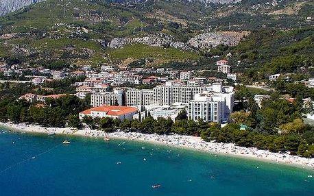 Chorvatsko - Tučepi na 7 až 10 dní, polopenze, plná penze nebo snídaně s dopravou autobusem, letecky z Ostravy nebo letecky z Prahy, Tučepi