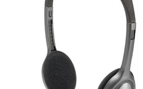Logitech H111 šedý (981-000593)