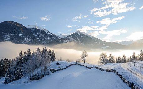 Zima a Vánoce v Alpách se vstupem do Felsentherme