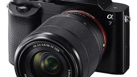 Digitální fotoaparát Sony Alpha 7 + FE 28-70 OSS černý