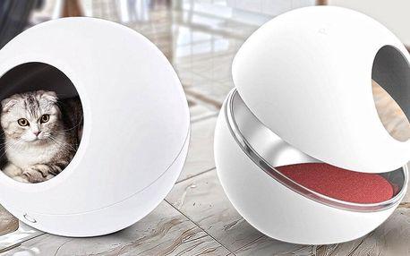 Chytrý pelíšek s termoregulací pro vaše mazlíčky