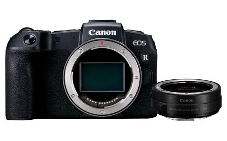 Digitální fotoaparát Canon EOS RP tělo + adapter černý + DOPRAVA ZDARMA