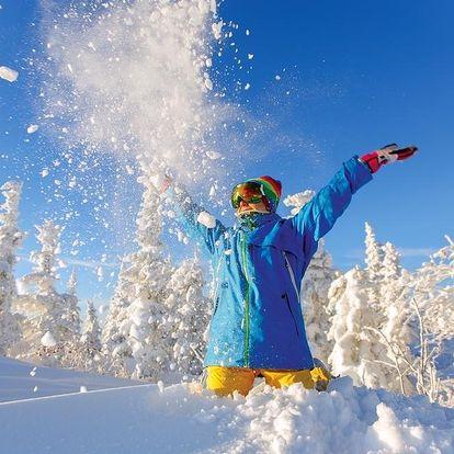 Zimní pohoda na horách na 4 noci v zařízení Hotel Maxov