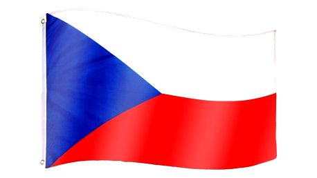 Tuin 60926 Vlajka Česká republika - 120 cm x 80 cm