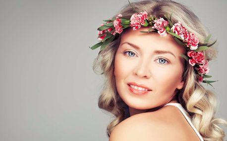 Kosmetické ošetření s vůní růží i lymfodrenáž