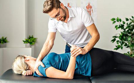 60 nebo 90 min. fyzioterapie vč. cvičebního plánu
