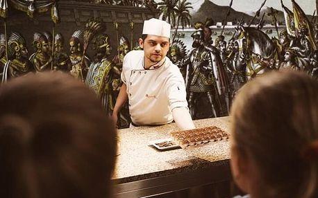 Čokoládové workshopy v Chocotopii