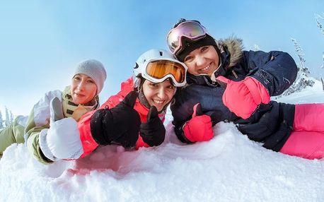 Zimní pohoda na horách na 3 noci v zařízení Dvorská bouda