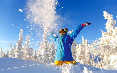 Zimní pohoda na horách na 4 noci v zařízení Dvorská bouda