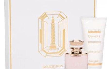 Boucheron Boucheron Quatre dárková kazeta pro ženy parfémovaná voda 50 ml + tělové mléko 100 ml