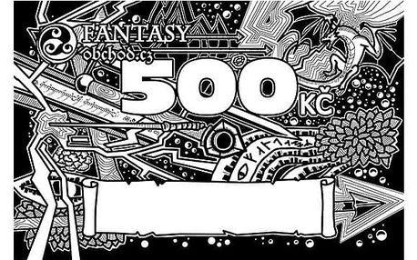 Dárkový poukaz Fantasy obchod.cz 500 Kč