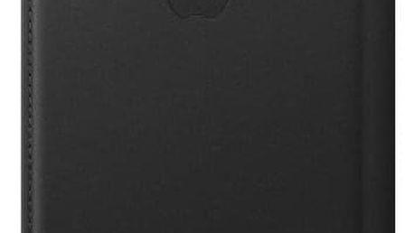 Apple Leather Folio pro iPhone X černé (MQRV2ZM/A)