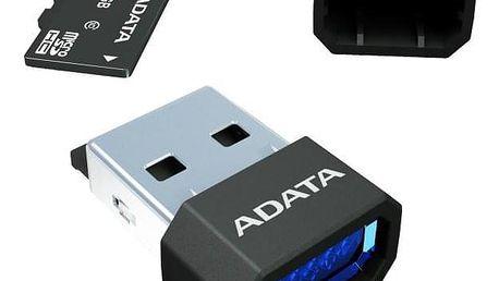 ADATA MicroReader Ver.3, MicroSD, USB 2.0 černá (AM3RBKBL)