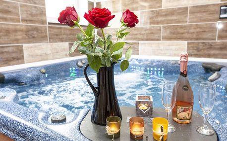 Luxusní apartmán v Harrachově s vlastní vířivkou