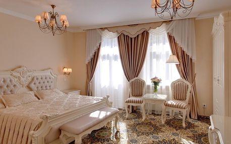 Karlovy Vary v hotelu Saint Petersburg s polopenzí i na Vánoce