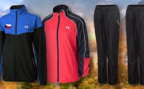 Sychravý podzim? V tréninkové bundě a kalhotách FORZA vás nepřekvapí.