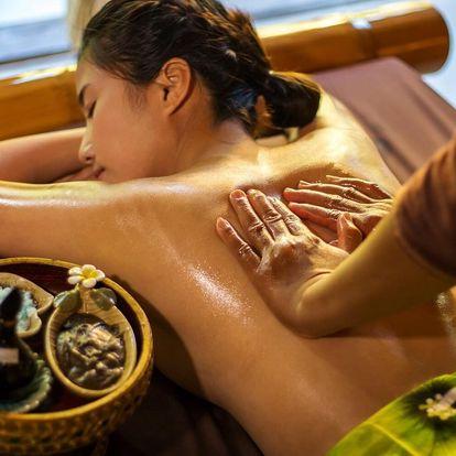 Thajská masáž proti stresu v délce 30 nebo 45 minut