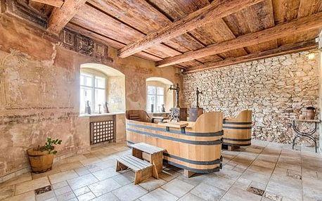Malebný Štramberk v penzionu Jaroňkova Pekárna s polopenzí a pivní koupelí