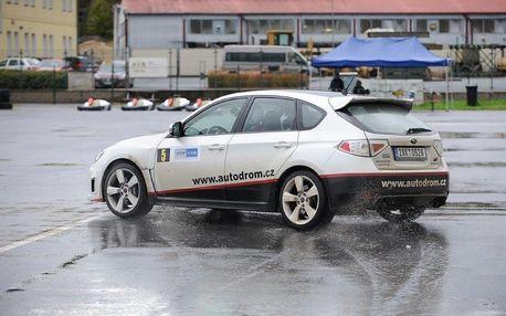 Kurz sportovní jízdy na autodromu u České Lípy