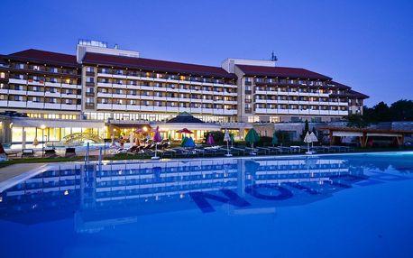 Hotel Pelion**** v lázních Tapolca u Balatonu s neomezeným wellness